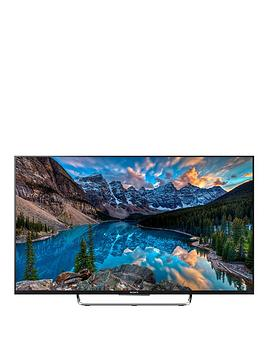 Sony Kdl43W805Cbu 43 Inch Smart 3D, Full Hd, Freeview Hd, Led Android Tv - Black