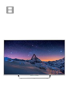 sony-kd43x8307csu-43-inch-smart-4k-ultra-hd-freeview-hd-led-android-tv-silver