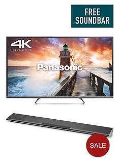 panasonic-viera-tx-50cx680b-50-inch-smart-4k-ultra-hd-freeview-hd-led-tv-and-free-sc-htb485-soundbar-with-wireless-subwoofer
