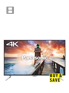 panasonic-tx-65cx410b-65-inch-freeview-hd-smart-4k-ultra-hd-3d-led-tv-black