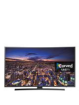 UE55JU6500KXXU 55 inch Freeview HD, Smart Curved, Ultra HD TV - Black