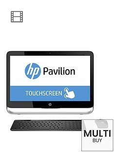 hp-pavilion-touchsmart-23-p250na-intelreg-coretrade-i5-processor-8gb-ram-2tb-hard-drive-wi-fi-23-inch-touchscreen-all-in-one-desktop-with-optional-microsoft-office-365-personal-black