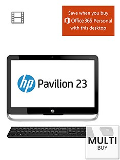 hp-pavilion-23-g350na-intelreg-coretrade-i5-processor-8gb-ram-1tb-hard-drive-wi-fi-23-inch-all-in-one-desktop-with-optional-microsoft-office-365-personal-black