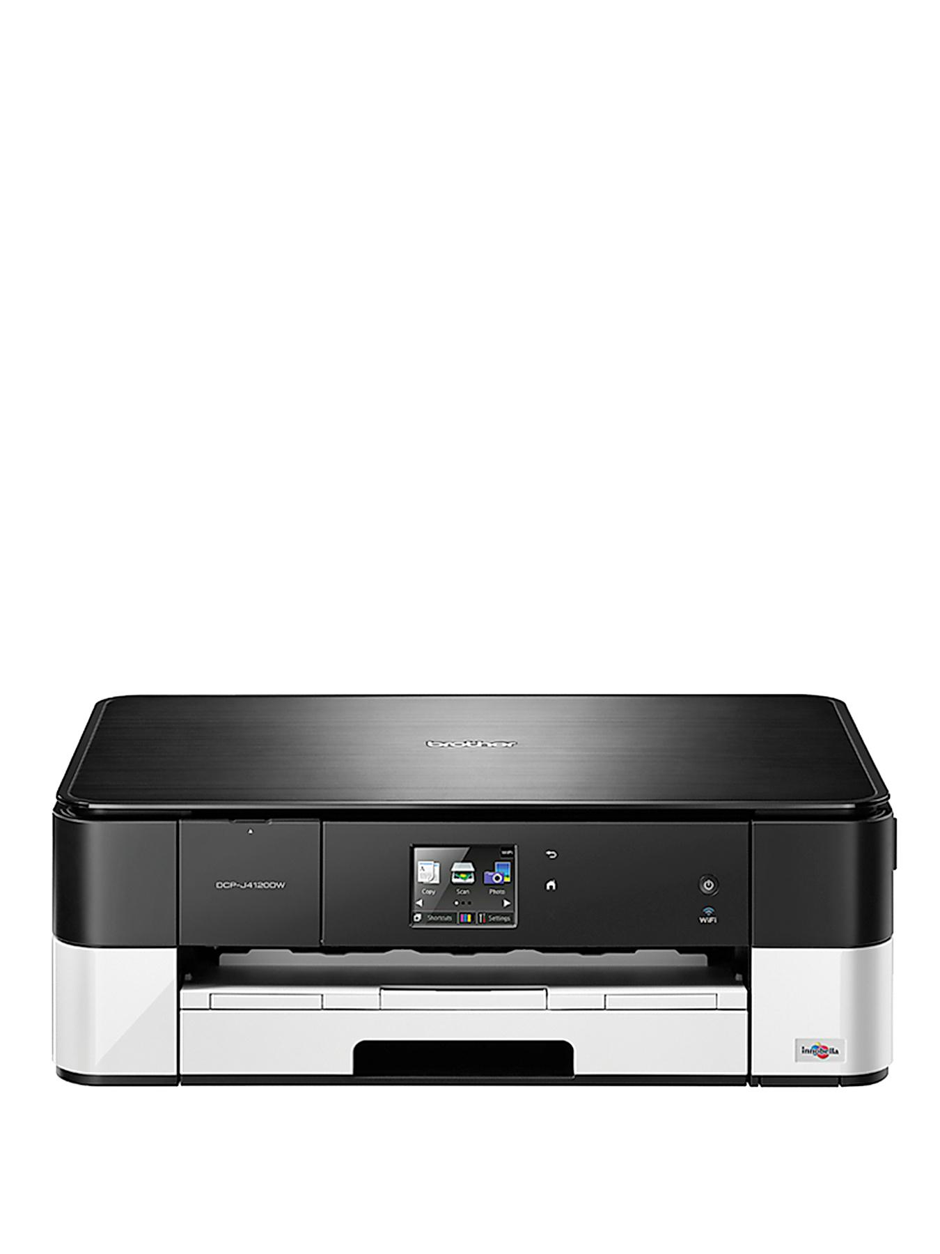 Brother DCP-J4120DW Inkjet AIO with A3 Print - Black White