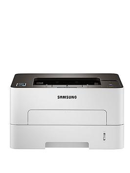 Samsung Xpress M2835DW Duplex Mono Laser Printer with Network, Wireless and NFC - Grey