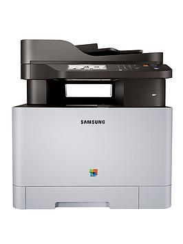 Samsung Multi-Function Xpress C1860Fw Colour Laser 4-In-1 Printer With Network, Wireless And Nfc - Grey