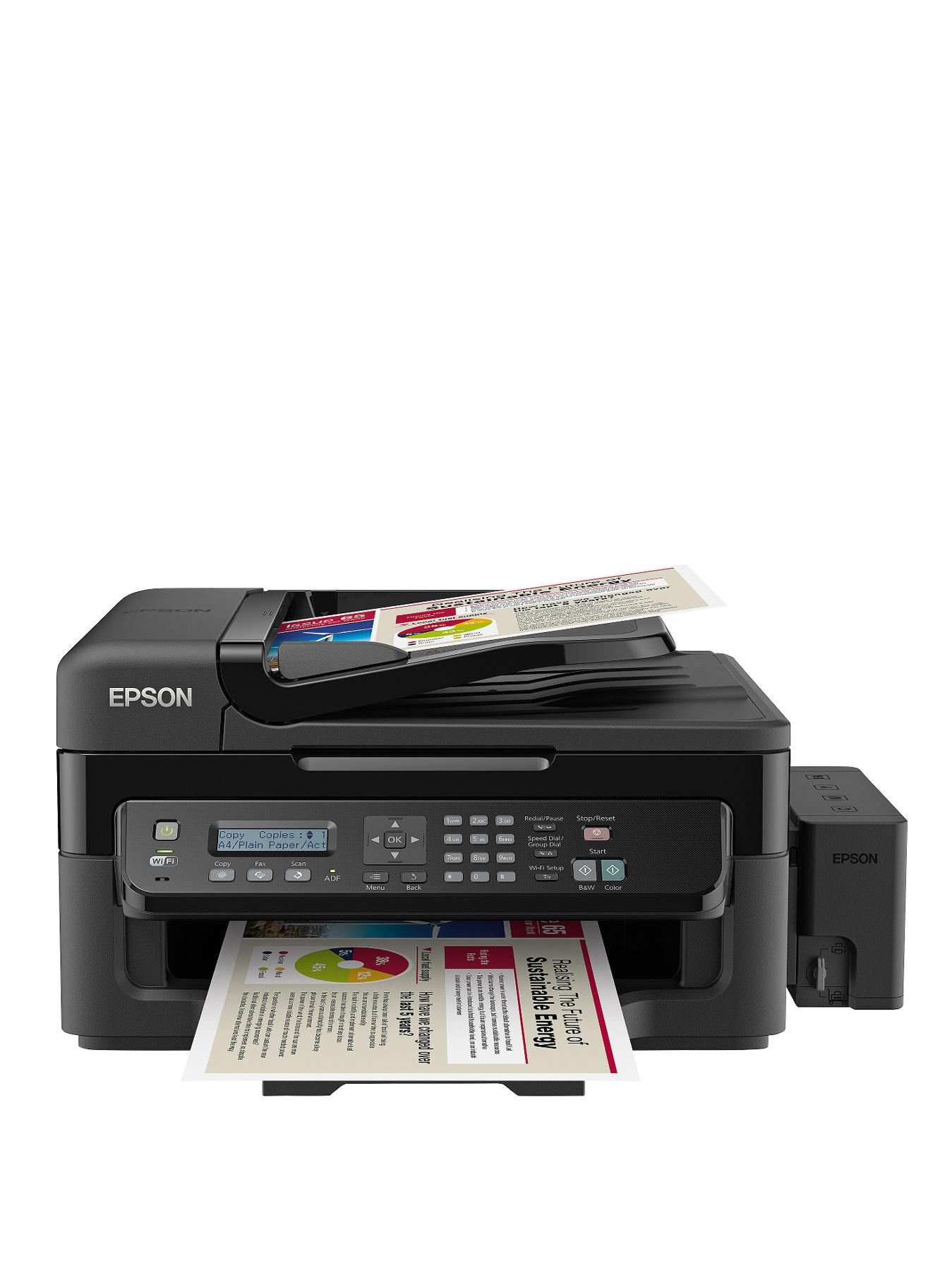 Epson ECO Tank L555 Wireless 4-in-1 Printer
