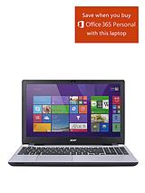 V3-572G Intel® Core® i7, 8Gb RAM, 1Tb Hard Drive Storage, 2Gb Dedicated Graphics, 15.6 inch Laptop - Silver