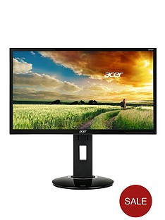 acer-238-inch-monitor-169-6ms-ips-led-100m1-acm-250nits-dvi-displayport-mm-height-adjustable