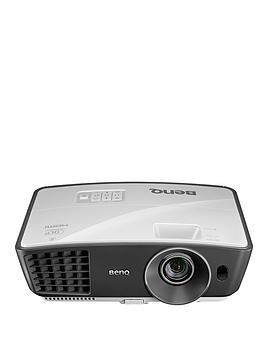BenQ W750 WXGA 1280 x 720, DLP, 2500 ANSI Lumens Brightness, 13000:1 Contrast, 3D Home Cinema Projector with integrated speaker