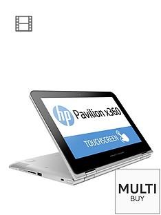 hp-pavilion-x360-11-k000na-intelreg-celeronreg-processor-4gb-ram-500gb-storage-intelreg-hd-graphics-116-inch-touchscreen-2-in-1-laptop-with-optional-microsoft-office-personal-365-silver