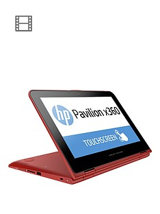 hp-pavilion-x360-11-k004na-intelreg-celeronreg-processor-4gb-ram-500gb-storage-intelreg-hd-graphics-116-inch-touchscreen-2-in-1-laptop-with-optional-microsoft-office-personal-365-red
