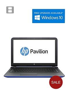 hp-pavilion-15-ab075na-amd-a8-quad-core-processor-8gb-ram-1tb-storage-amd-r7m360-2gb-graphics-156-inch-laptop-with-optional-microsoft-office-personal-365-blue
