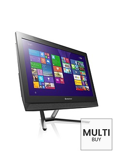 lenovo-c40-intelreg-pentiumreg-processor-4gb-ram-1tb-hdd-storage-215-inch-all-in-one-desktop-with-optional-microsoft-office-365-personal-black