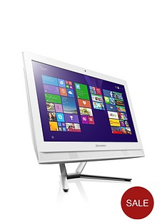 lenovo-c40-intelreg-coretrade-i3-processor-8gb-ram-1tb-hdd-storage-215-inch-all-in-one-desktop-with-optional-microsoft-office-365-personal-white