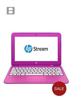 hp-stream-11-d016na-intelreg-celeronreg-processor-2gb-ram-32gb-storage-116-inch-laptop-with-optional-microsoft-office-365-personal-magenta