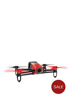 parrot-bebop-drone-without-sky-controller-red