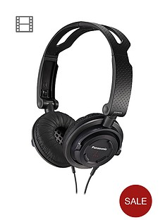 panasonic-rp-djs150e-k-on-ear-headphones-with-microphone