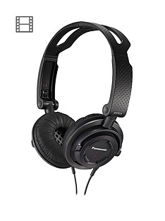 panasonic-rp-djs150e-k-on-ear-headphones-with-microphone