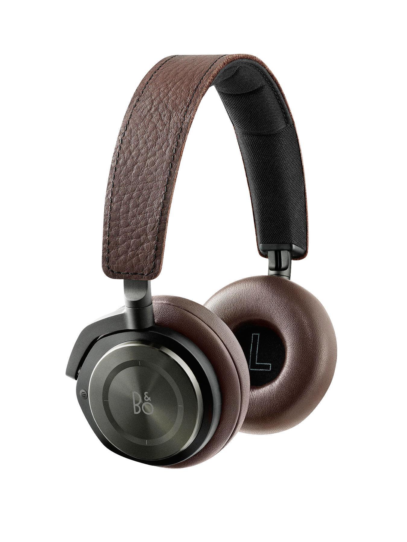 B&O Play by Bang and Olufsen H8 Headphones - Gray Hazel