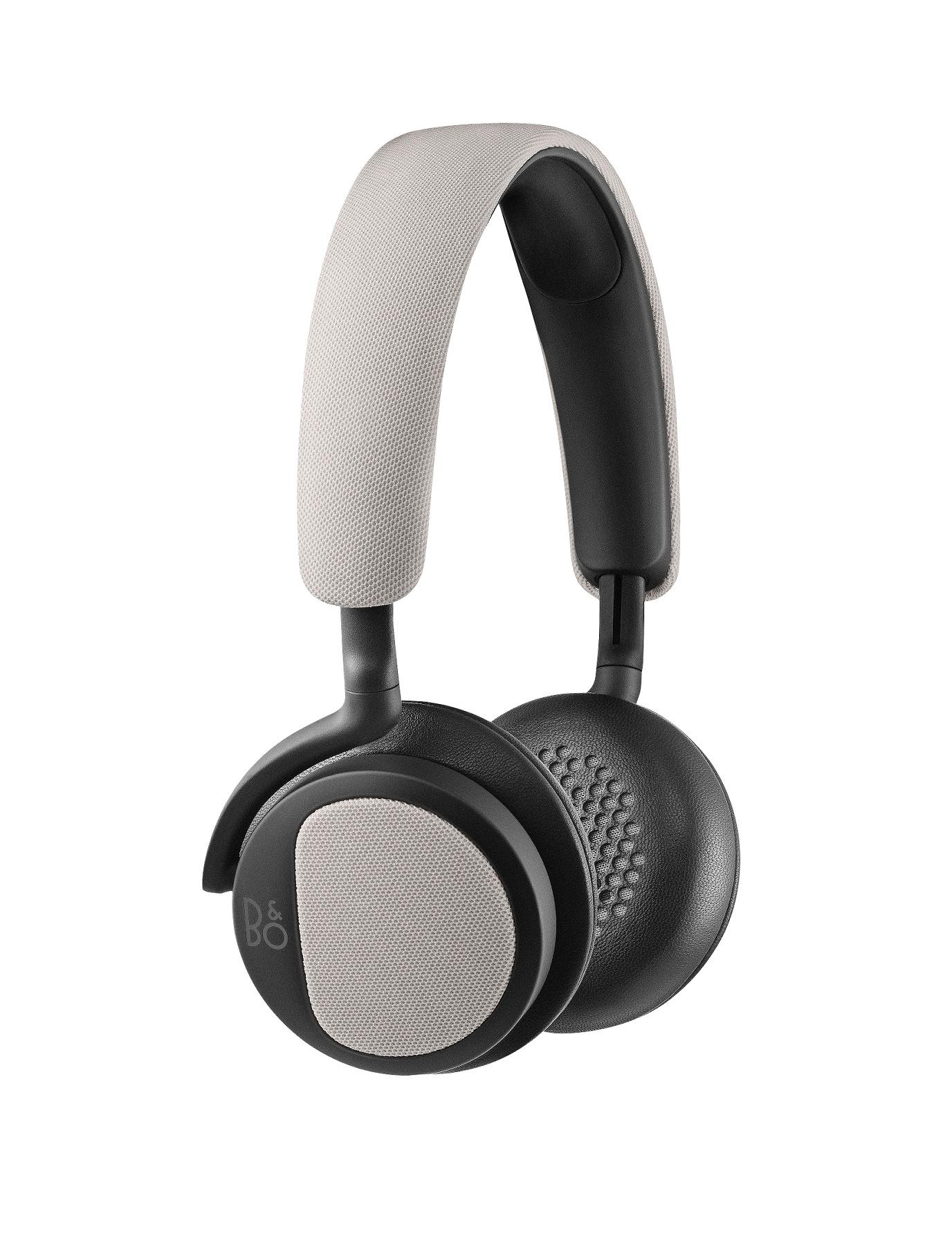 B&O Play H2 Headphones - Silver Cloud