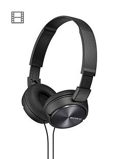 sony-zx310-on-ear-folding-headphones-black