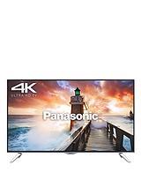 TX-48CX400B 48 inch Freeview HD, Smart 4K Ultra HD 3D LED TV - Black