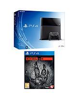 500GB Console + Evolve + FREE DriveClub & inFAMOUS Second Son
