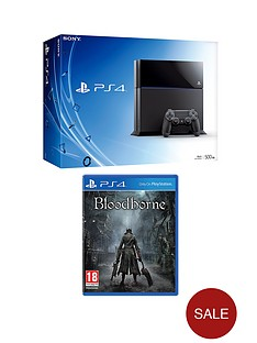 playstation-4-console-with-bloodborne-and-optional-12-months-playstation-plus-or-dualshock-4-controller