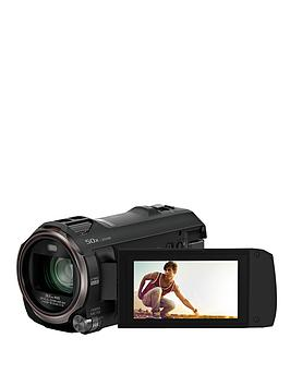 Panasonic Hc-V770Eb-K Full Hd Camcorder With 20X Optical Zoom And Wifi