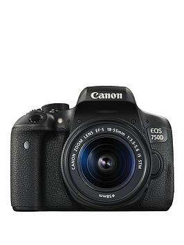 Canon 750D Camera With Ef-S 18-55Mm Is Stm Lens