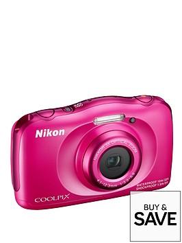 nikon-coolpix-s33-13-megapixel-digital-camera-pink