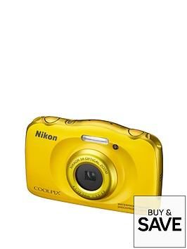 nikon-coolpix-s33-13-megapixel-digital-camera-yellow