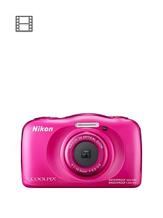 nikon-coolpix-s33-13-megapixel-digital-camera-with-backpack-kit-pink