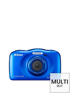 nikon-coolpix-s33-13-megapixel-digital-camera-with-backpack-kit-blue
