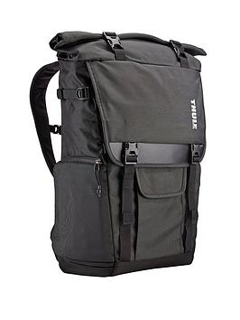 Thule Covert Dslr Rolltop Backpack Dark Shadow