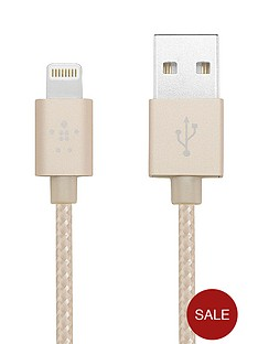 belkin-12-m-lightning-to-usb-braided-tangle-free-cable-with-aluminium-connectors-for-ipad-ipod-iphone-5-5s-5c-6-and-6-plus-gold-mfi-approved