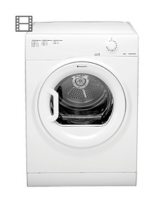 hotpoint-aquarius-tvfm70bgp-7kg-vented-dryer-white