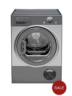 hotpoint-tcfm80cgg-8kg-condenser-dryer-graphite