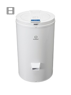 indesit-isdg428-4kg-freestanding-spin-dryer