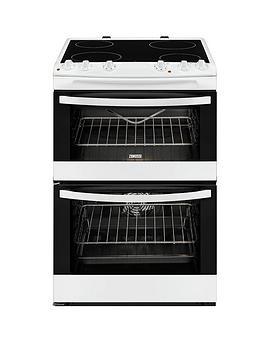 zanussi-zcv68010wa-60cm-electric-freestanding-double-oven-white