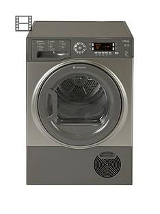 hotpoint-sutcd97b6gm-ultima-9kg-condenser-dryer-graphite