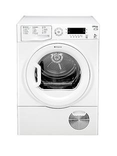 hotpoint-sutcdgreen9a1-ultima-9kg-heat-pump-condenser-dryer-white