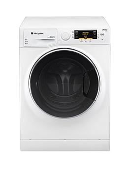 Hotpoint RPD10477DD Ultima S-Line 1400 Spin, 10kg Load Washing Machine - White