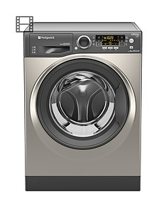 hotpoint-rpd9467jgg-ultima-s-line-9kg-load-1400-spin-washing-machine-graphite