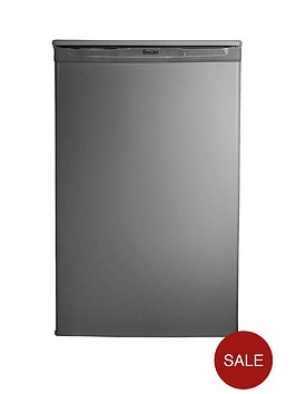 swan-sr8080s-50cm-under-counter-fridge-next-day-delivery-silver