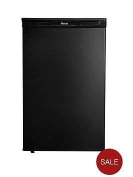 swan-sr8080b-50cm-under-counter-fridge-next-day-delivery-black