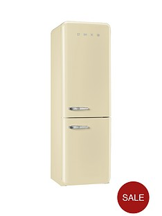 smeg-fab32rnc-60cm-fridge-freezer-cream