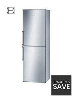 bosch-kgn34vl20g-60cm-fridge-freezer-stainless-steel