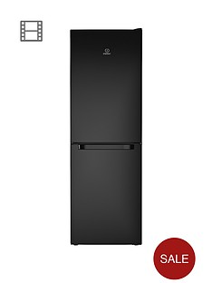 indesit-ld70n1k-60cm-frost-free-fridge-freezer-black